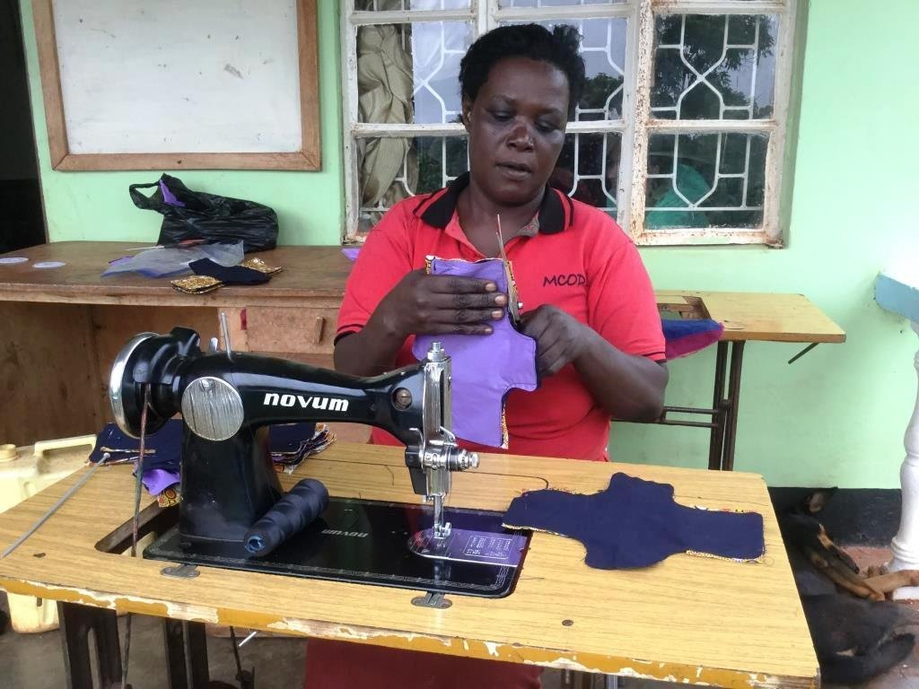 Re-usable Menstrual Management Pads Making